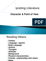 ACC - 1302 - Lecture 6 - Character & Point of View