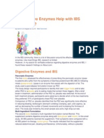 Do Digestive Enzymes Help With IBS Symptoms?