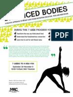 Balanced Bodies - A Holistic Approach To Weight Loss 7 Week Program at MAC Timonium