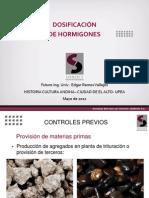 Curso dosificación de hormigones ESTUDIANTES (El Alto Abril 2012)