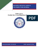FHFA OIG Report on Freddie Mac