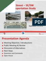 M Street SE-SW Transportation Study - Public Meeting 3 Presentation
