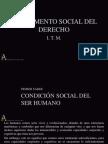 Fundamento Social Del Derecho