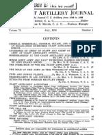 Coast Artillery Journal - Jul 1930