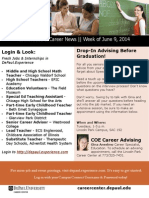 DePaul University College of Education Weekly Hot Jobs and Career Events