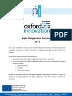 Oxford Innovation Agile Cornwall Survey Summary