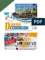 CERTIFICACIÓN DISEÑO DECORACION ARQUITECTURA INTERIOR 10 AL 15 OCTUBRE ARGENTINA