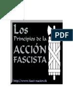 Los Principios de La Accion Fascista