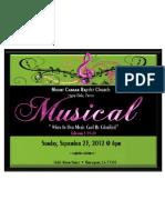 Annual 2012 Musical