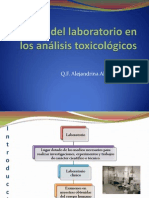 El rol del laboratorio en los análisis toxicológicos