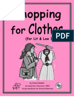 Shopping for Clothes for Lit and Low 1  Teacher's Quide