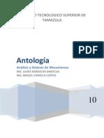 AGO-EnE 2010 Analisis y Sintesis de Mecanismos Antologia