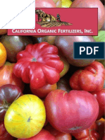 California Organic Fertilizers 2013 Label Book