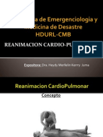 reanimanimacion cardiopulmonar