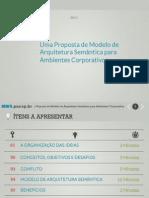 Modelo de Arquitetura Baseada Em Semantica Para Ambientes Corporativos Artigo