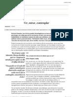 Ver, mirar, contemplar | Edición impresa | EL PAÍS