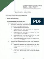 Kep 01 Tahun 2012 Rincian Tugas Unit Kerja Dilingkungan Kantor Pusat Bmkg Lampiran III