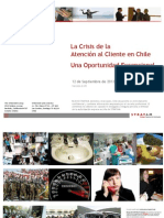 Crisis de Satisfaccion de Clientes en Chile