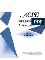 2010 Standards CPE