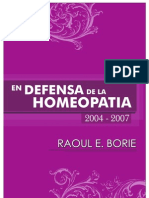 Endefensa de La Homeopatia