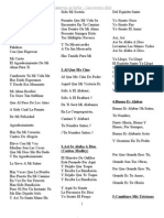 friendship group lyrics Revised español 56 songs