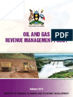 Oil Gas Revenue Management Policy - 2012