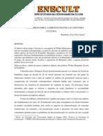 Walter Benjamin e a Dimensão Política da Indústria Cultural - HumbertoAlvesSilvaJunior