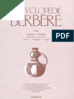 Encyclopédie Berbère Volume 8