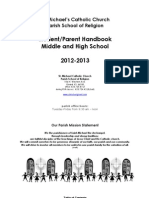 2012 Middle School & High School Handbook