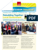 Country Labor Dialogue - September 2012