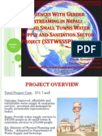 Second Small Towns Water Supply and Sanitation Sector Project (Nepal)