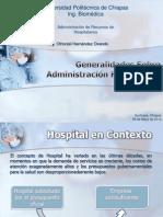 Generalidades Sobre Administración Hospitalaria