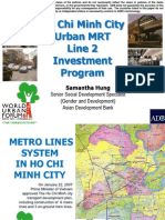 Hi Chi Minh City Urban MRT Line 2 Investment Program (Viet Nam)