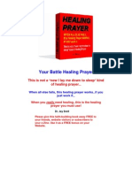 Battle Healing Prayer