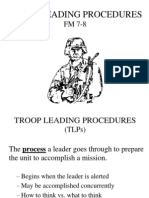 Intro to Troop Leading Procedures