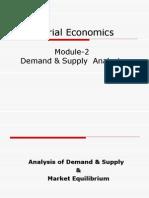 Demand Analysis Mod I