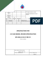 SPC-0804.02-50.91 Rev D2 3D-CAD Model Review Specification
