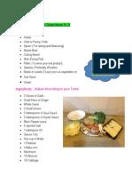 Stir Fry Recipe_Ankita