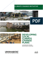 Developing Local Climate Change Plans