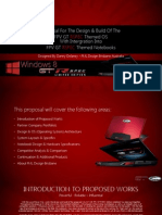 FML Designs FPV GT RSPEC Themed Notebook & OS Proposal