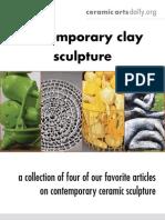 Contemp Clay Sculpture 3