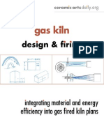 Gas Kiln design & firing