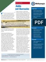 Fort Benning Adds Energy-Efficient Barracks - Building Information Modeling (BIM) used to organize work