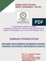 Prasad Seminar PPT