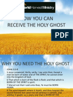 You Can Receive the HG