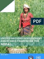 UN Development Assistance Framework, Nepal 2013-17