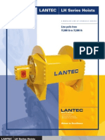 Lantec Lh Series Hoists Catalog