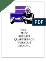 Qb Summer Workout '03