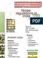 Noise Pollution - Prevention and Control -Rules 2000 & Laws & Noise Limits - India