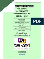 Wikileaks Secrets and Lies Programme Transcript-1
